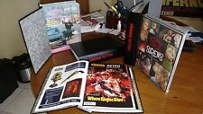 Cinema Retro Magazine Complete Collection All 40 Issues In Binders + Signed Book