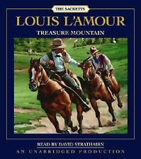 Louis L'Amour TREASURE MOUNTAIN Unabridged CD *NEW* FAST 1st Class Ship!
