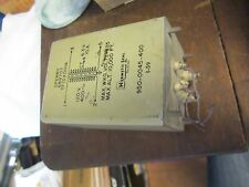 Vintage SPERRY FILAMENT transformer 6.3 VOLTS 10A  689707 Radio amp Transformer