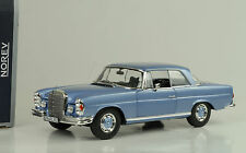 1969 Mercedes-Benz  280 SE W111 light blue hellbalu metallic 1:18 Norev 183532