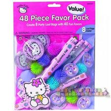 HELLO KITTY Flower Fun FAVOR PACK (48) ~ Birthday Party Supplies Toys Sanrio