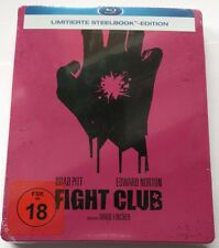 Fight Club | Blu-Ray Limited Steelbook | Edward Norton Brad Pitt | NEU NEW