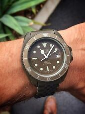 Heuer 981.006 PVD vintage olive green Diver - A very rare watch 42mm Case