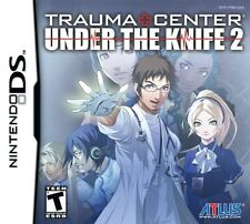 Trauma Center: Under the Knife Sequel 2 (Nintendo DS DSI 3DS Part 2 Atlus) NEW