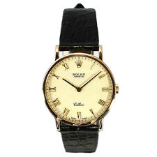 Gents Rolex Geneve Cellini 5112/8 18ct Yellow Gold Watch