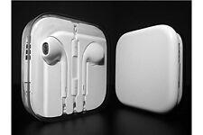 Blanco tapón Con Micrófono Para Apple iPhone 6/5/5S/5C Earpod Auriculares Manos Libres
