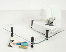 """Sew Steady Extension Table 18""""X24"""" to FIT BABYLOCK OVATION BLES8  SERGER"""