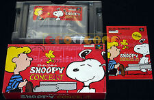 SNOOPY CONCERT Super Nintendo SNES Famicom Versione Giapponese NTSC ○○○ COMPLETO