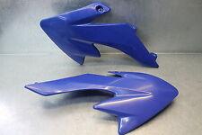 Mini Dirt Pocket Bike Side Cover Plastic Radiator Shroud Left Right Blue Set