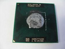 Intel Core 2 Duo 2.1GHz Laptop CPU Processor T6500 SLGF4 2.10/2M/800 (J5-10)