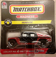 Humvee, Black and Red, Matchbox MXB Taco Bell Exclusive, Y73