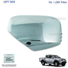 Lh Left Chrome Mirror Side Cover Genuine For Mitsubishi L200 Triton Mn 2006-2014