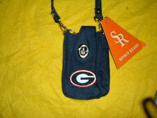 Georgia Bulldogs Ladies Cell Phone Purse Pouch New