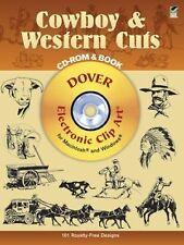 Cowboy & Western Cuts: Electronic Clip Art for Macintosh and Windows CD-ROM and