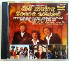 CD (s) - WO MEINE SONNE UND SCHEINT - Flippers / Spider Murphy u.v.a.