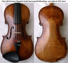 OLD MAGGINI VIOLIN VIOLINO ANTIQUE - see video - バイオリン скрипка 小提琴 367
