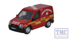 76FTC003 Oxford Diecast OO Gauge Ford Transit Connect Cork City Fire Brigade