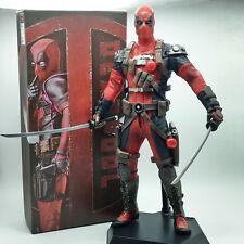 """X-MEN/ FIGURA DEADPOOL ROJO 30 CM- ACTION FIGURE DEAD POOL RED 12"""" IN BOX"""