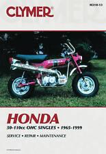 HONDA 50-110CC OHC SINGLES 1965-1 BOOK NEW