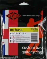Rotosound RS88S Black Nylon Tru Bass Guitar Strings - Short Scale - 65-115 guage