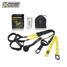 POWER GUIDANCE Suspension Straps Adjustable Buckles Resistance Strength Training