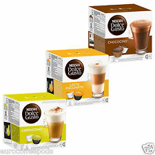 Dolce Gusto Coffee Cream Collection (3 Boxes,Total 48 Capsules ) 24 Servings
