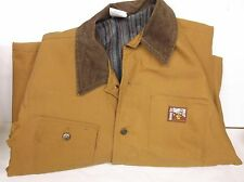 """30"""" Steine Thermal Tuff Coat Blanket Lined Button Down Brown [ Medium] New (A36)"""