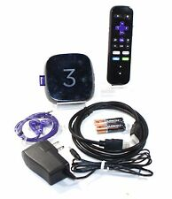 Roku 3 Streaming Media Player (4230R) with Voice Search (2015 Model)- ACCEPTABLE