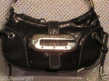 GUESS BLACK SMALL BOHO SHOULDER  CLUTCH HANDBAG PURSE SMALL