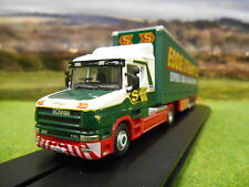 OXFORD EDDIE STOBART SCANIA T CAB ARTIC CURTAINSIDER 1/76 76TCAB007
