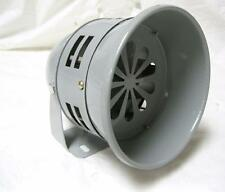 Gray Powder Coated Rotary Siren Horn Vintage Rat Hot Rod Fire Truck Police Car