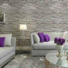 USA 10M Vinyl Paper Wallpaper Roll 3D effect Wall Art Decor for Home Hotel Bar