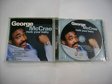 GEORGE MCCRAE - ROCK YOUR BABY - CD EXCELLENT CONDITION 1997
