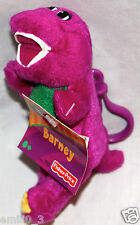 "NEW WITH TAG BARNEY PLUSH CLIP 5 1/2"" FISHER PRICE 2003"