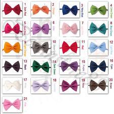 2PKDog Cat Pet Puppy Bow Tie Necktie Clothes 20Colors Leave note for the Color