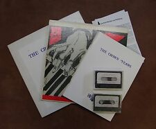 John Crown: The Crown Years~ RARE Promo Kit Cassettes, Book + Lp Cambria Records