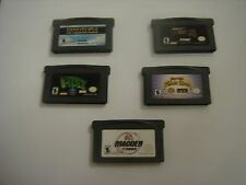 5 Game Boy Advance games lot A