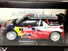 NOREV 181552 CITROEN DS3 1 WRC RALLY FRANCE WINNER 2012 RED BULL 1/18 LOEB/ELENA
