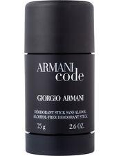 Armani Code Deodorant Stick By Giorgio Armani 2.6oz/75gm For Men New & Unbox