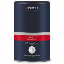 Indola Rapid Blond+ White Dust-Free Powder Hair Bleach 450g