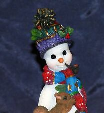 2000 Lenox Resin Pencil Snowman Winter Companion