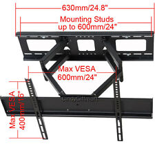 "Full Motion TV Wall Mount for Sony Toshiba Samsung 39 40 46 47 50 55 60"" LED AW2"