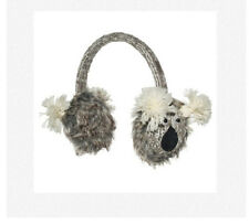 KOALA EARMUFFS ADULT ear muffs bear Hat and Mittens Sold Separate gray grey NEW