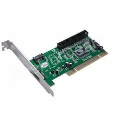 3 Port SATA +1 IDE PCI Controller RAID Card Adapter w/SATA cable
