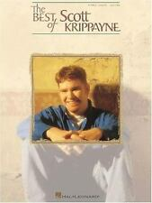 The Best of Scott Krippayne Christian SONGBOOK Piano Vocal Guitar Music Book PVG