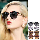 Vintage Women's Unisex Mens Sunglasses Arrow Style Metal Frame Round Sunglasses