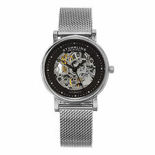 Stuhrling Original Women's 832L 02 Castorra Automatic Self Wind Silver Watch