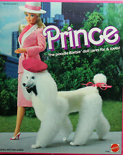 Barbie Poodle Dog Prince 1984, MIB NRFB - 07928