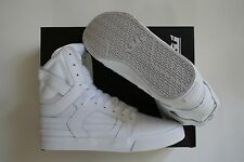 NEW SUPRA SKYTOP II WHITE / WHITE SKATE SKATEBOARD HIP HOP SPORTS SHOES 12