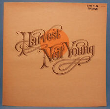 NEIL YOUNG HARVEST MS 2032 VINYL LP '72 ORIG PRESS POSTER GREAT COND! VG+/VG+!!A